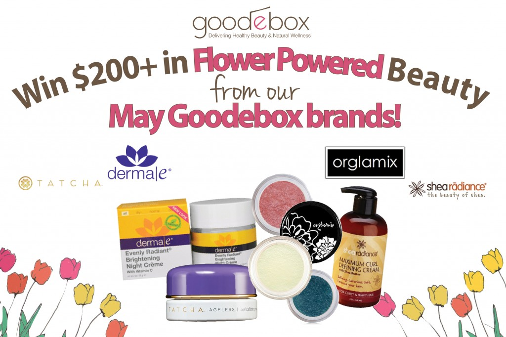 Flower Power May Giveaway