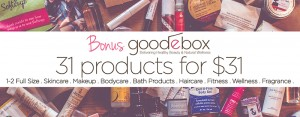 31 healthy beauty samples for $31